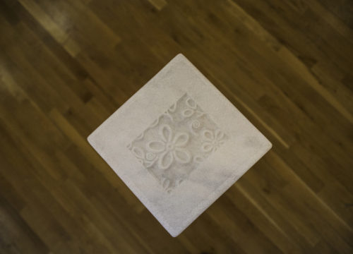 Marble with Toilet Paper Pattern